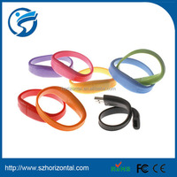 Promotional PVC flash drive 250gb wristband USB2.0 flash drive
