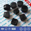 Customized black round plastic plugs for furniture