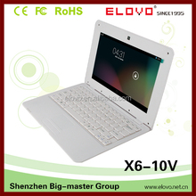 """super-slim 10inch Android laptop roll-up 10""""Android laptop cheap quality 10inch netbook front webcam 10""""Android laptop"""