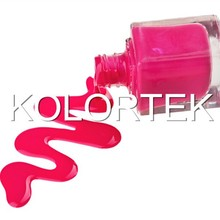 Fluorescent color pigment, cosmetic nail polish pigment, nail enamel pigment, factory pice