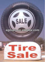 Custom make advertising balloon inflatable tire for sale S6023