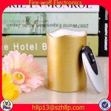 Guangzhou Manufacturer resin candle holder artificial candle