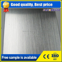 standard size 2mm thick brushed aluminum sheet