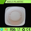 900ml Disposable plastic PP round food container wholesale