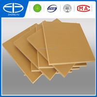 fireproof WPC plastic foam sheet/ PVC WPC foam board