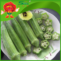New Crop Frozen Organic Okra for sale
