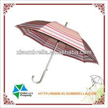 Market aluminium sun and rain umbrella