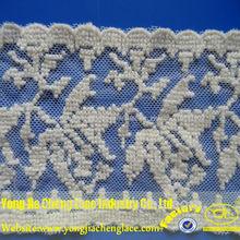yjc14824 novo projeto do laço de tule bordado aparamento