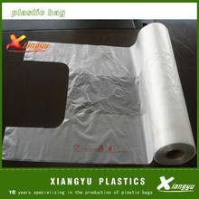 Plastic roll bag/cheap printed T-Shirt shopping Bag on roll