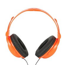 Wired foladable headphone, price headphone big ear cup design