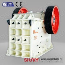 High Capacity stone and jaw crusher /PE jaw crusher