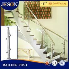 Modern railing stairs,stainless steel stair post