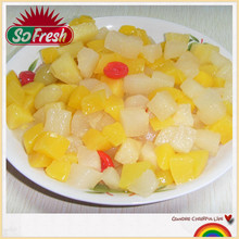 Hot selling canned fruit factory supplier mixed fruit