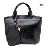 wholesale alibaba Retro style luxy black cc bag with any color
