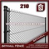Pvc Coating Chain Link Fence/5 Foot Plastic Coated Chain Link Fence