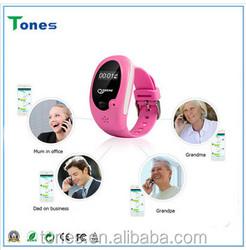 Touch Screen Kids GPS Smart Watch 2015 New Model Kids GPS Tracker