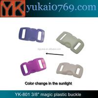 Yukai plastic luggage travel bag buckle/magic luggage parts buckle for bags