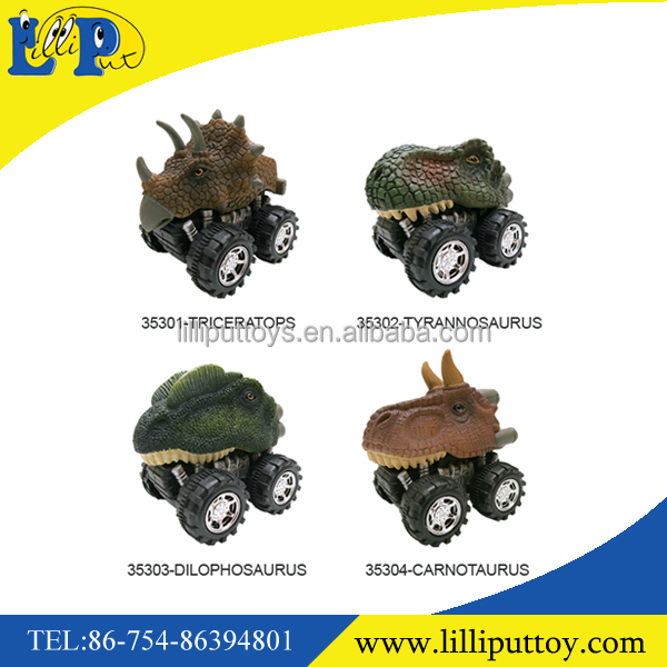 Dinosaur Toy Truck