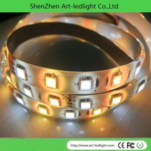12V 24V smd5050 RGB led strip light Flexible 30LED 60LED 120LED 240LED double row LED tape waterproof CE rohs