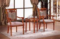 top grade quality 4 legs wood round tea table wood tea table (NG2662)