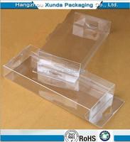 2015 Plastic folding box custom PET/PVC/PS folding box