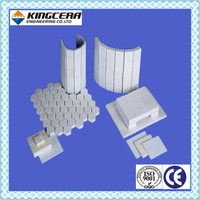 Mining abrasion&impact resistant Alumina Ceramic welding brick