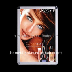 Aluminum A0,A1,A2,A3,A4 classic photo frame, picture frame, snap frame of click -clack systerm