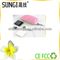 shenzhen computer accessories 4d usb charged wireless mouse