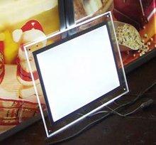 2012 new product transparency slim light box