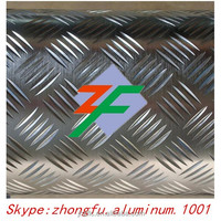 China Wholesale 1060, H24 alloy aluminum checker plate sheet