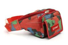 2015 hot selling polyester sport pink cell phone waist belt bag