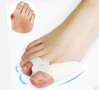 Nail Tools Gel Toe Separator Stretchers Bunion Splint Straightener Corrector Insole Foot Hallux Valgus Cure Feet Care HA00536