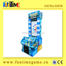 Box Folding coin operated amusment kids lottery tickets redemption game machine