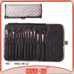 New Styling Tools Professional pincel maquiagem Professional Makeup Brush 12 pcs Cosmetic Make Up brushes Set With Case Bag Kit