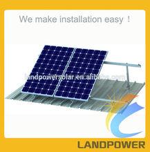 Adjustable Tilt Solar Mounting System, Solar Flat Roof Mounting Structure, Adjustable Angle Solar Mounting of Solar Power