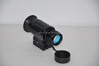 Durable in use professional helmet-mounted monocular hunting lights with scope night vision