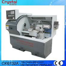 torno de metal pinzas o pequeño chuck torno cnc para la venta CK6132A
