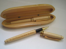Promotional Wood Pen With Wooden Box