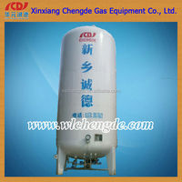 industrial use of high pressure liquid carbon dioxide storage tanks