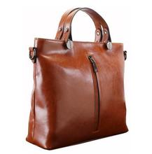 printed tote bag leather mens fashion bag reusable shopping pu leather tote bags