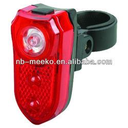 3 Red LED Bicycle Light bike