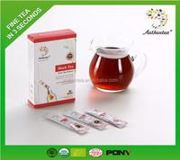 Chinese High Mountain Organic Black Tea 10 Sachets Box