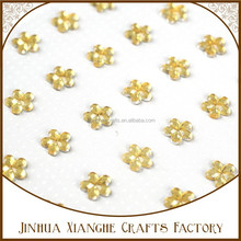 2015 high quality flower stickers for scrapbook