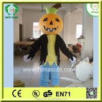 Hot sale mascot!!! HI EN71 best selling adult pumpkin mascot , mascot type pumpkin costumes