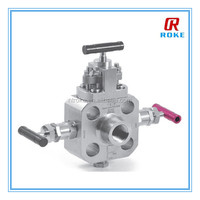 ASTM A182 F51 monoflange valve with OS&Y