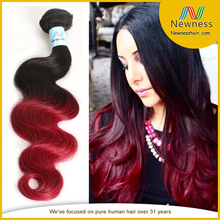 burgundy two tone ombre remy hair weaving simple party hairstyles for long hair nice and easy hair color