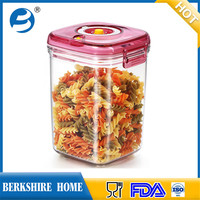 China manufacturer glass large vacuum microwave food container for home food storage