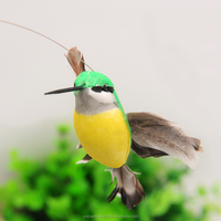 outdoor toy flying sunflower and hummingbird solar toys flip flap toy solar grass decoration factory wholesale