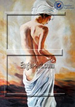 Wholesale Sex Girl Nude Painting Canvas