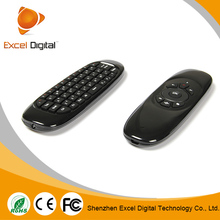 China USB 2.4G wireless air fly mouse+keyboard combo for smart tv,Android TV Box